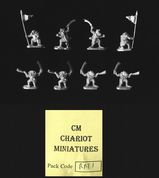 Chariot Miniatures 15mm Fantasy RAT1 Ratmen Command